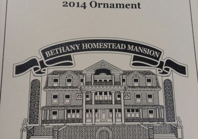 2014 Bethany Homestead Mansion Ornament