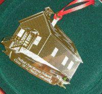 2010 Bethel One-Room School Tree Ornament
